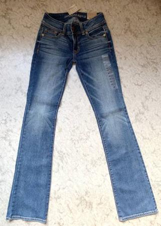 Jeans American Eagle med tags, str. XS
