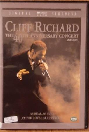 CLIFF RICHARD - THE 40TH ANNIVERSARY CONCERT