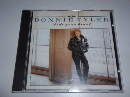 BONNIE TYLER - HIDE YOUR HEART 1988 EX/EX  ( UTGÅTT CD )