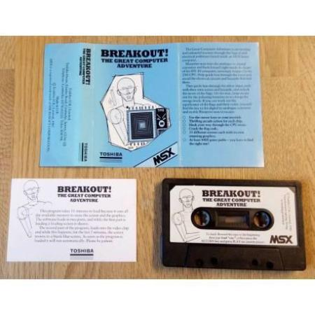 Breakout! - The Great Computer Adventure (Toshiba) - MSX