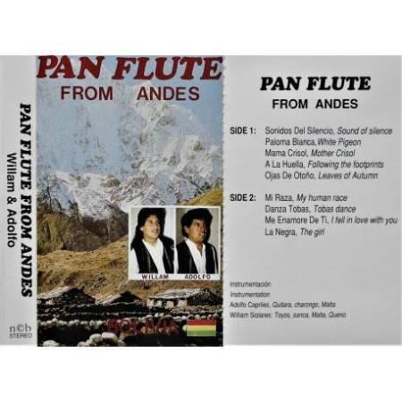 Pan Flute from Andes - Kassett