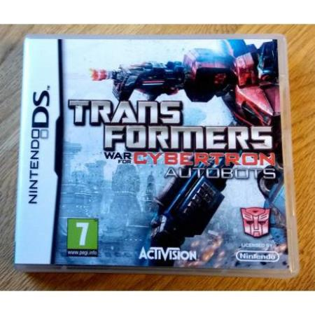 Transformers - War for Cybertron Autobots (Activision) - DS