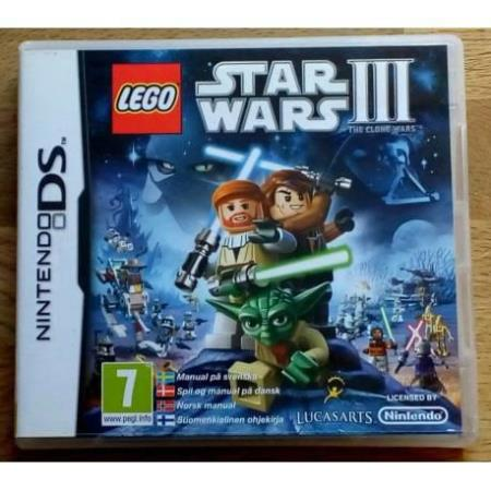 LEGO Star Wars III - The Clone Wars (LucasArts) - DS