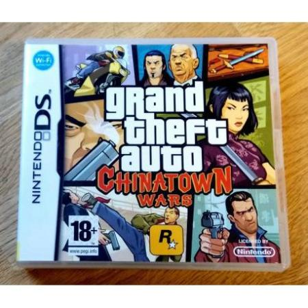 Grand Theft Auto - Chinatown Wars (R) - Nintendo DS