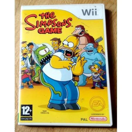 The Simpsons Game (EA Games) - Nintendo Wii