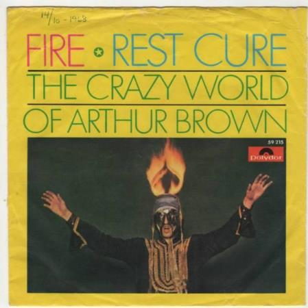 Crazy world of Arthur Brown/Fire - norsk