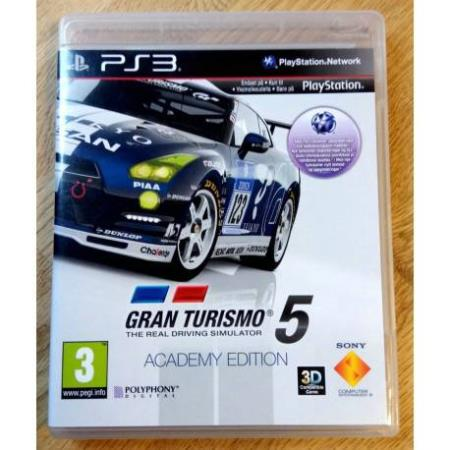Gran Turismo 5 - Academy Edition (Polyphony Digital) - PS3