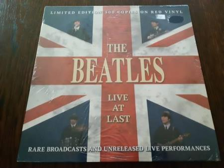 The Beatles - Live at last /Limited edt 500 copies red vinyl