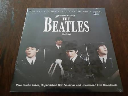 The very best of The Beatles 1962-64/500 copies on white vin