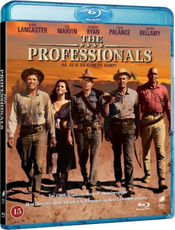 THE PROFESSIONALS (1966) (LEE MARVIN) (BLU-RAY)
