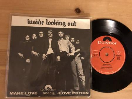 INSIDE LOOKING OUT - Make Love /Love Potion  Polydor 1970