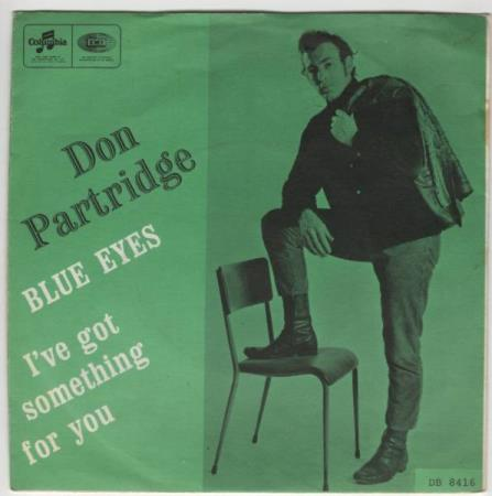 Don Partridge/Blue eyes - norsk