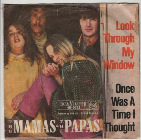 Mamas & Papas/Look through my window - tysk