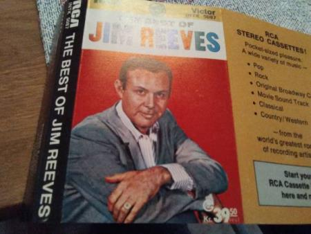 Jim reeves. The  best of Jim reeves.