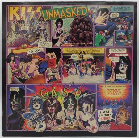 KISS Unmasked 1980 South African pressing LP
