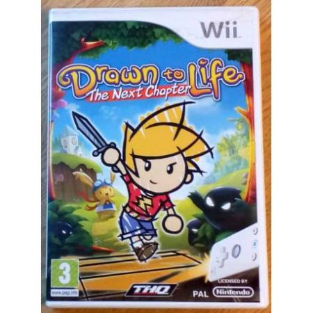 Drawn to Life - The Next Chapter (THQ) - Nintendo Wii
