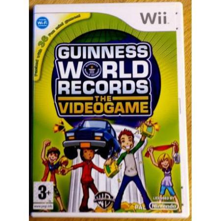 Guinness World Records - The Videogame (WB) - Wii