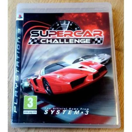Supercar Challenge (System 3) - Playstation 3