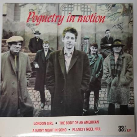 The Pogues - Poguetry in motion EP 1986