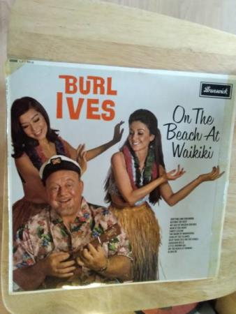 Burl ives. On the Beach at waikiki.