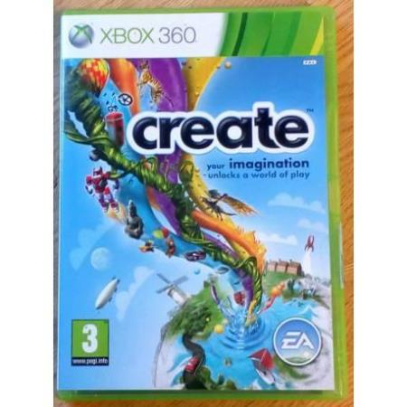 Create - Your imagination unlocks a world of play - Xbox 360
