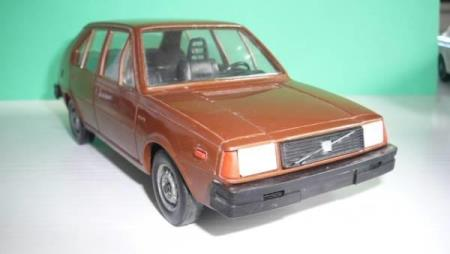 Volvo 345 DL - Made in Finland - 21 cm