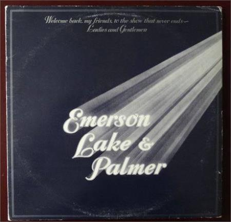 EMERSON LAKE & PALMER - WELCOME BACK MY FRIENDS ( TRIPPEL LP