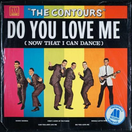 THE CONTOURS: Do You Love Me (tysk Motown)