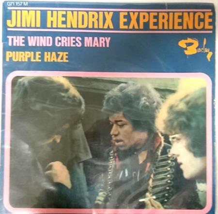 Jimi Hendrix Experience - The wind cries Mary EP 1967