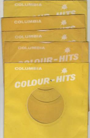 5 columbia colour hits cover