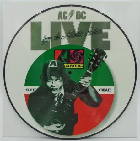AC/DC Live From The Atlantic Studios 2000s pic-disc LP