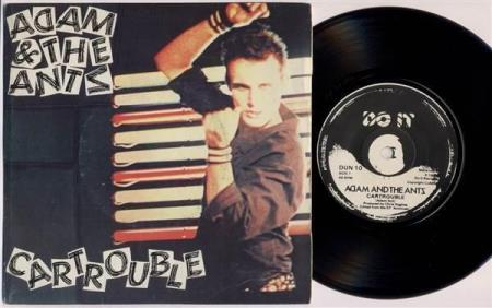 """ADAM AND THE ANTS Cartrouble 1980 UK 7"""""""