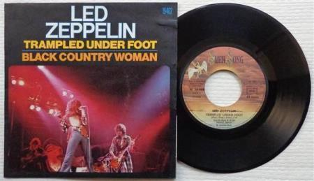 """LED ZEPPELIN Trampled Underfoot French 7"""", VERS. 1"""