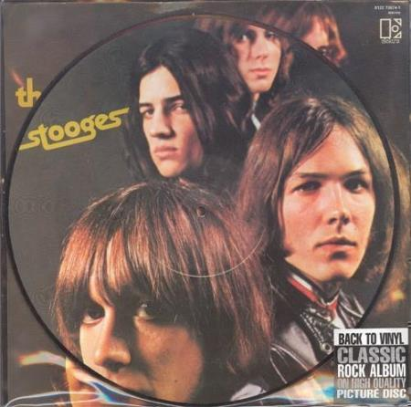 STOOGES / IGGY POP The Stooges UK picture-disc LP w/insert