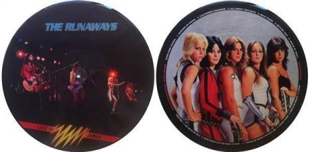 THE RUNAWAYS Live In Japan Australian picture-disc LP