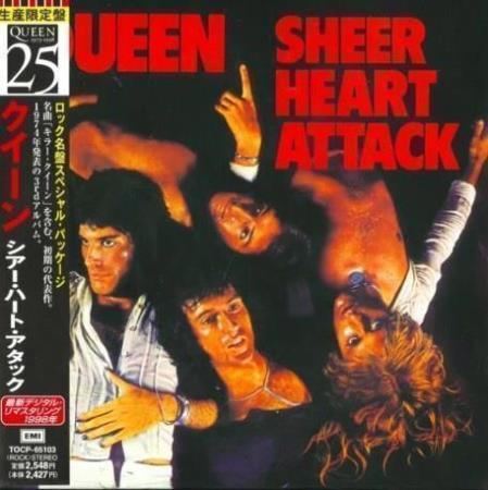 QUEEN Sheer Heart Attack Japan paper-sleeve CD w/OBI