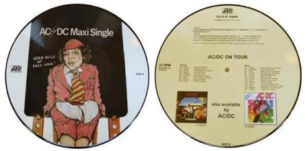 "AC/DC Maxi Single limited 10"" picture-disc vinyl EP"