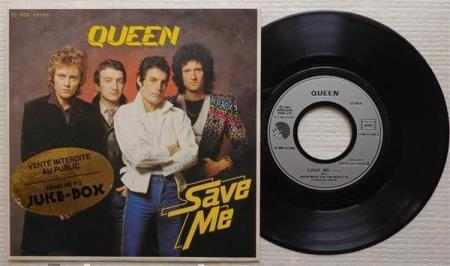 QUEEN Save Me 1980 French promo jukebox 7""