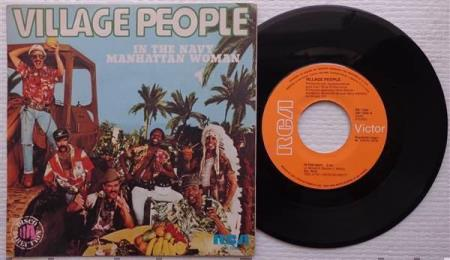 VILLAGE PEOPLE In The Navy 1979 Spanish 7""