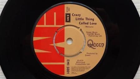 """QUEEN Crazy Little Thing Called Love 1979 UK 7"""""""