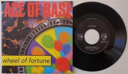 """ACE OF BASE Wheel Of Fortune 1993 German 7"""""""