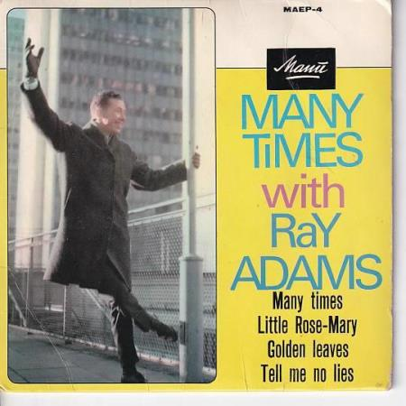 Ray Adams - Many Times with EP