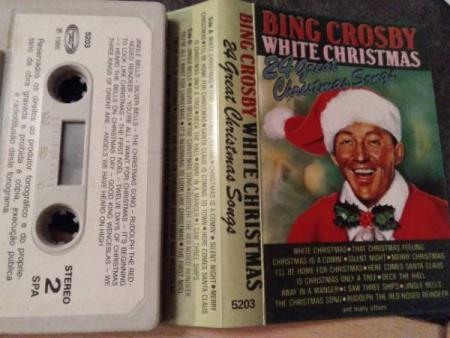 Bing crosby. White Christmas. 24 Great Christmas songs.