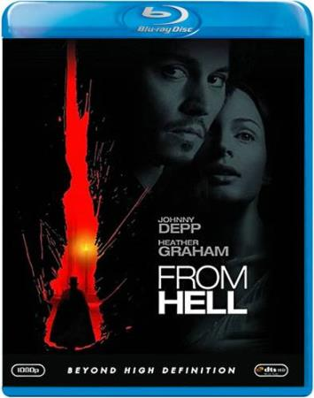 FROM HELL (2001) (JOHNNY DEPP) (THRILLER) (BLU-RAY)