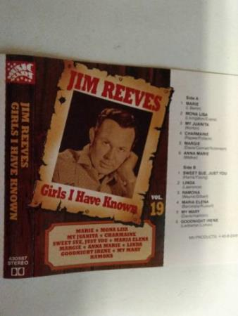 Jim reeves. Girls i have known. Vol 19.