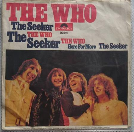 The Who - The Seeker  1970