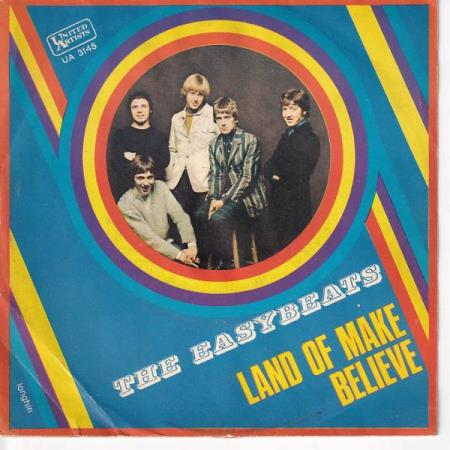 The Easybeats - Land of Make Believe / We All Li.. ITALIENSK