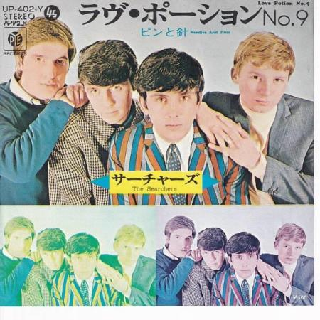 The Searchers -Needles And Pins / Love Potion No.9 - JAPANSK