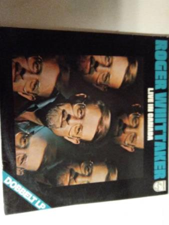 Roger whittaker. Recorded live in Canada with saffron. 2 lp.