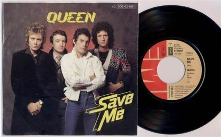 QUEEN Save Me / Let Me Entertain You 1980 German 7""